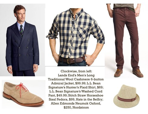 Some casual options for you tall guys...